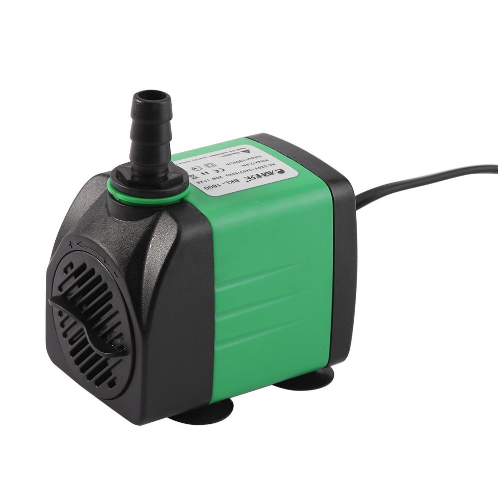 Submersible eco aquarium fish tank water pump 420 1800l h for Submersible fish tank pump