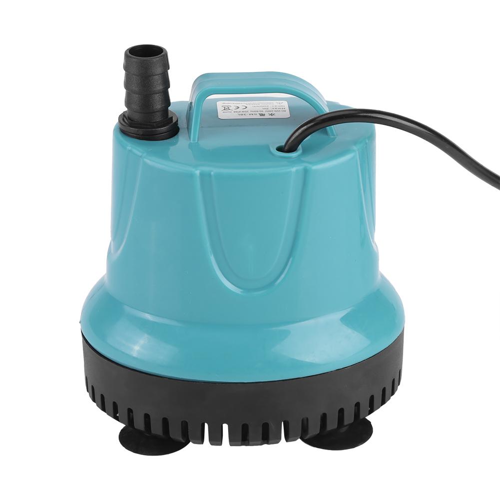 25 35w 2000l h pompe submersible eau ultra silencieuse ventouse aquarium etang ebay. Black Bedroom Furniture Sets. Home Design Ideas