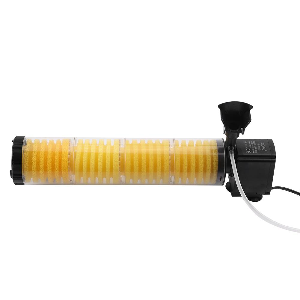 3 type 3 in 1 aquarium filter oxygen air pump submersible for Fish tank oxygen pump