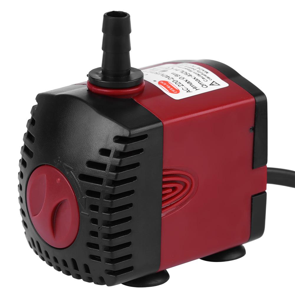 Mini pompe eau submersible bruit faible avec 4 ventouse - Pompe a eau aquarium ...