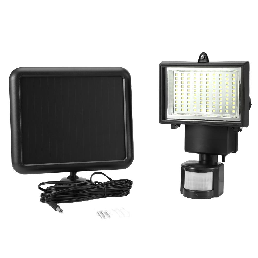 Top Détecteur 100 Lampe Sur Capteur Solaire Lumière Détails Led Pir Infrarouge De Extérieur 4A5jLqR3c