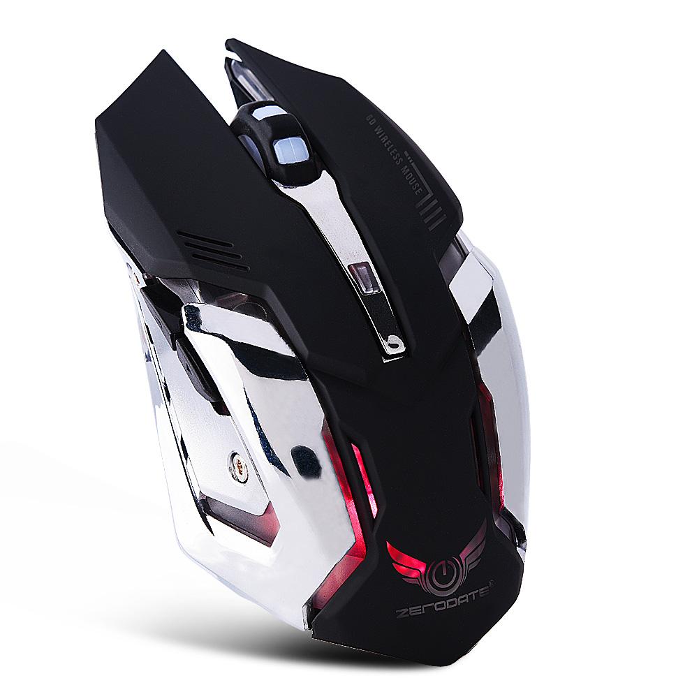 2-4G-sans-fil-Rechargeable-USB-Souris-Optique-Souris-2400DPI-LED-pour-PC-Laptop miniature 8