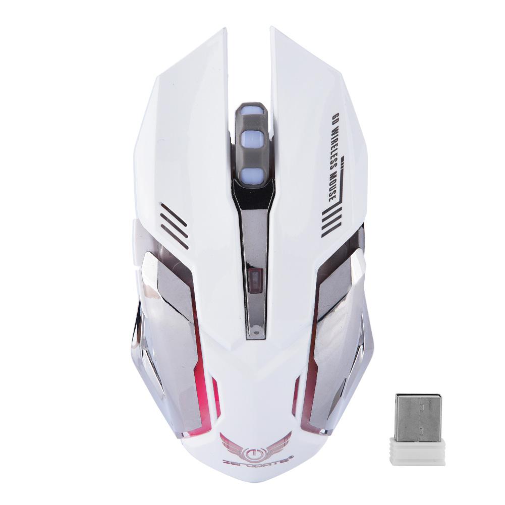 2-4G-sans-fil-Rechargeable-USB-Souris-Optique-Souris-2400DPI-LED-pour-PC-Laptop miniature 12