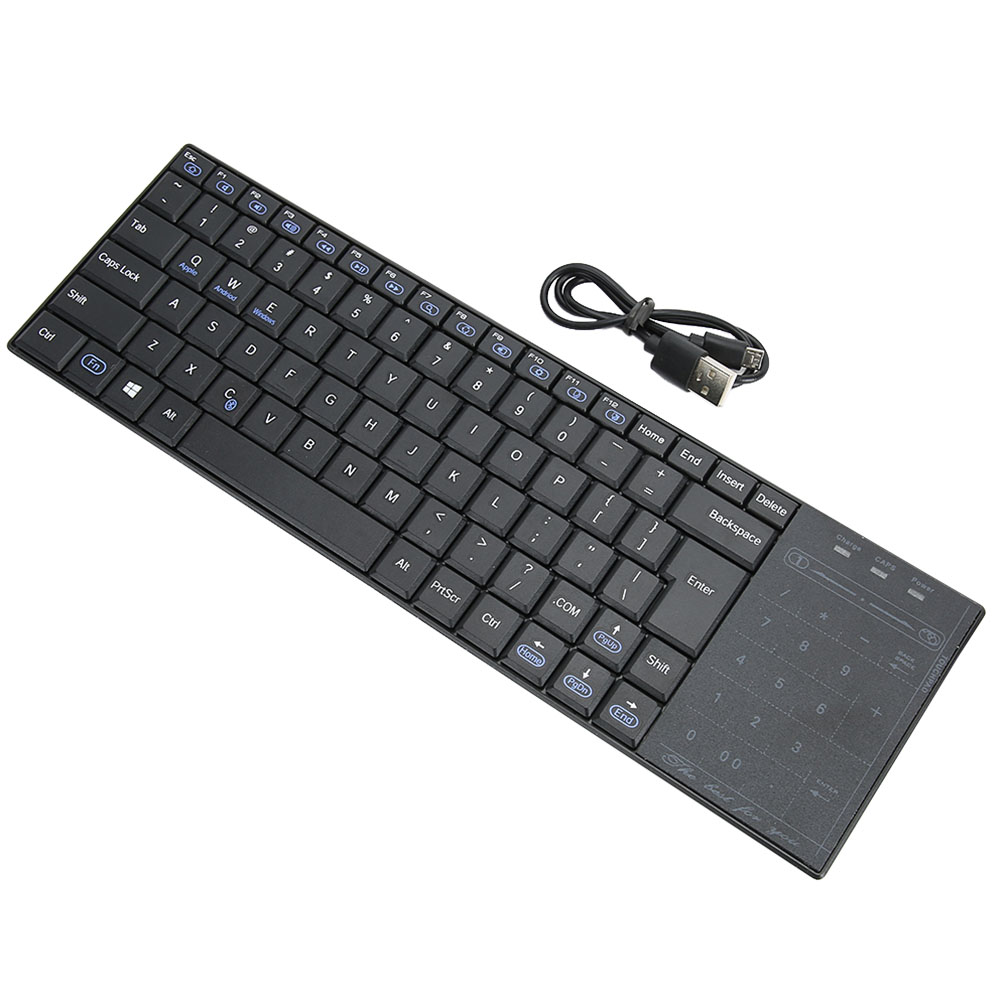 Android Bluetooth Keyboard Example: Wireless Bluetooth Keyboard With Touchpad Mouse 2in1 For IOS/Android/Windows EB