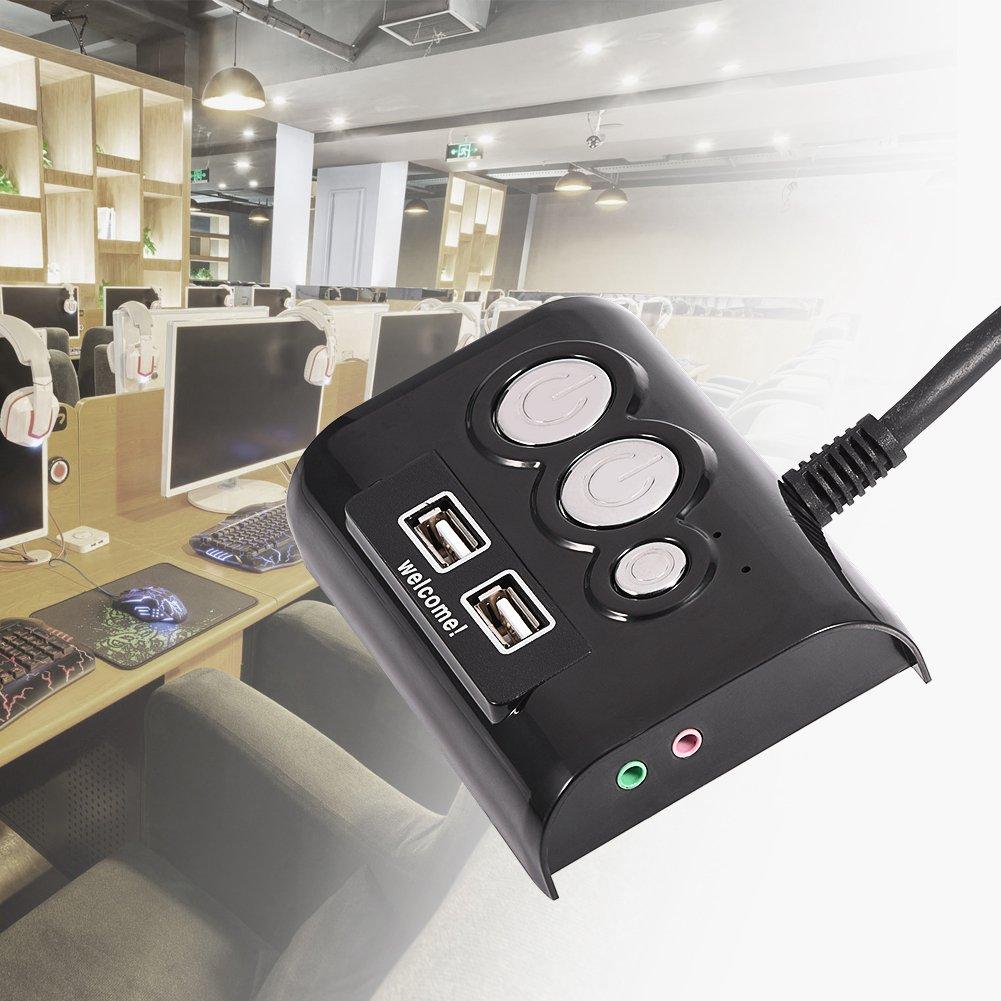 dual usb kabel hub adapter mit laptop computer pc netzteil ein aus schalter ebay. Black Bedroom Furniture Sets. Home Design Ideas