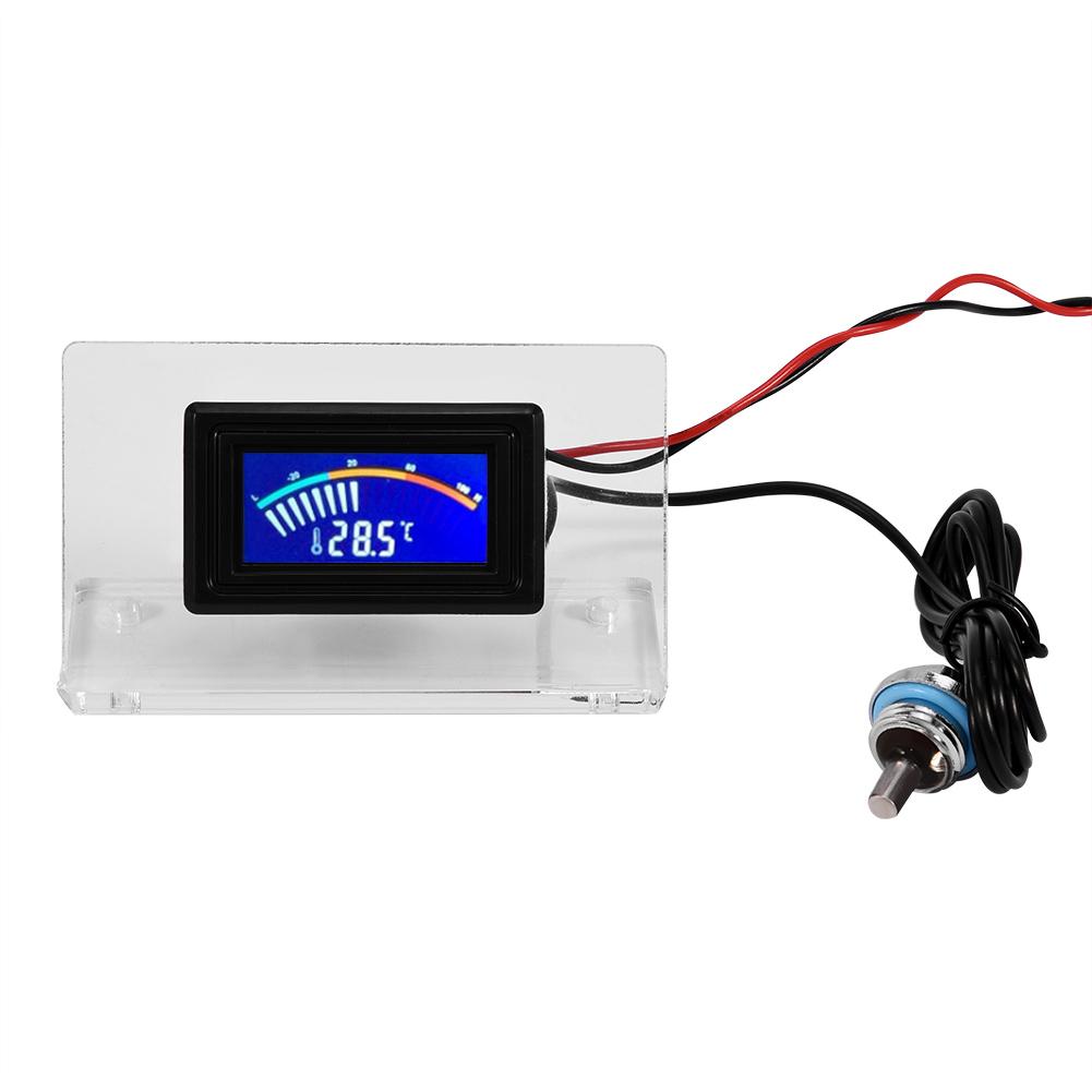 Termometro digitale lcd con sonda per acquario freezer for Temperatura acquario
