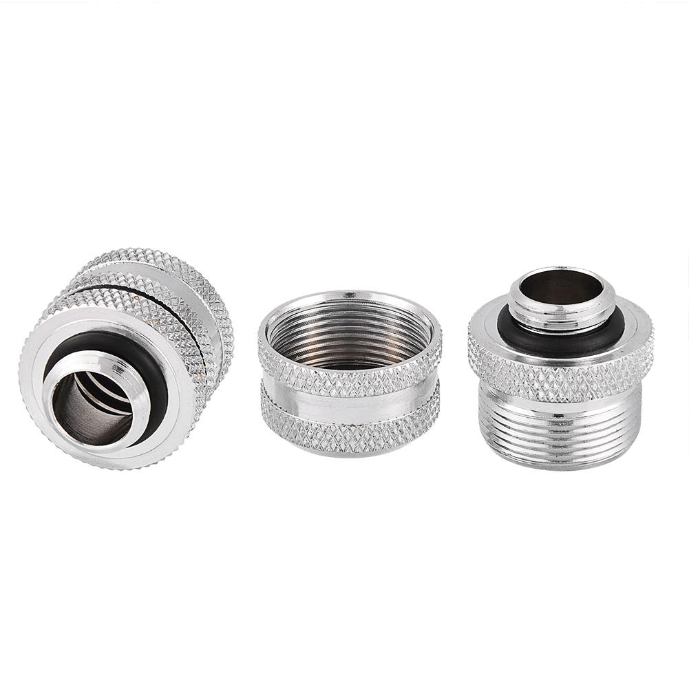 Pc rigid hard pipe fitting connector g thread brass
