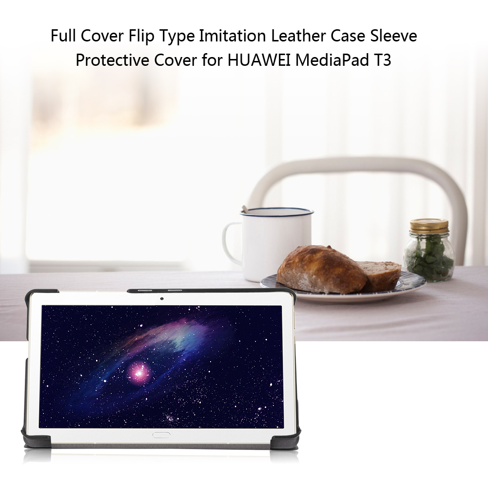 For-Huawei-MediaPad-M3-T3-7-034-8-034-10-034-Tablet-Smart-PU-Leather-Case-Stand-Cover-ZZ miniature 26