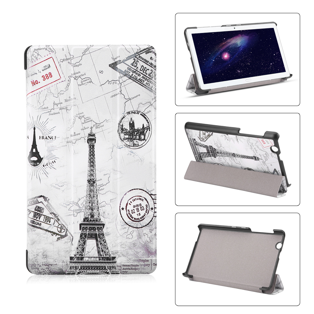 For-Huawei-MediaPad-M3-T3-7-034-8-034-10-034-Tablet-Smart-PU-Leather-Case-Stand-Cover-ZZ miniature 44