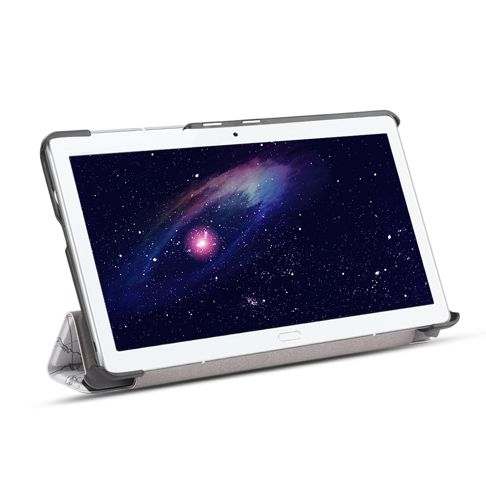 For-Huawei-MediaPad-M3-T3-7-034-8-034-10-034-Tablet-Smart-PU-Leather-Case-Stand-Cover-ZZ miniature 45