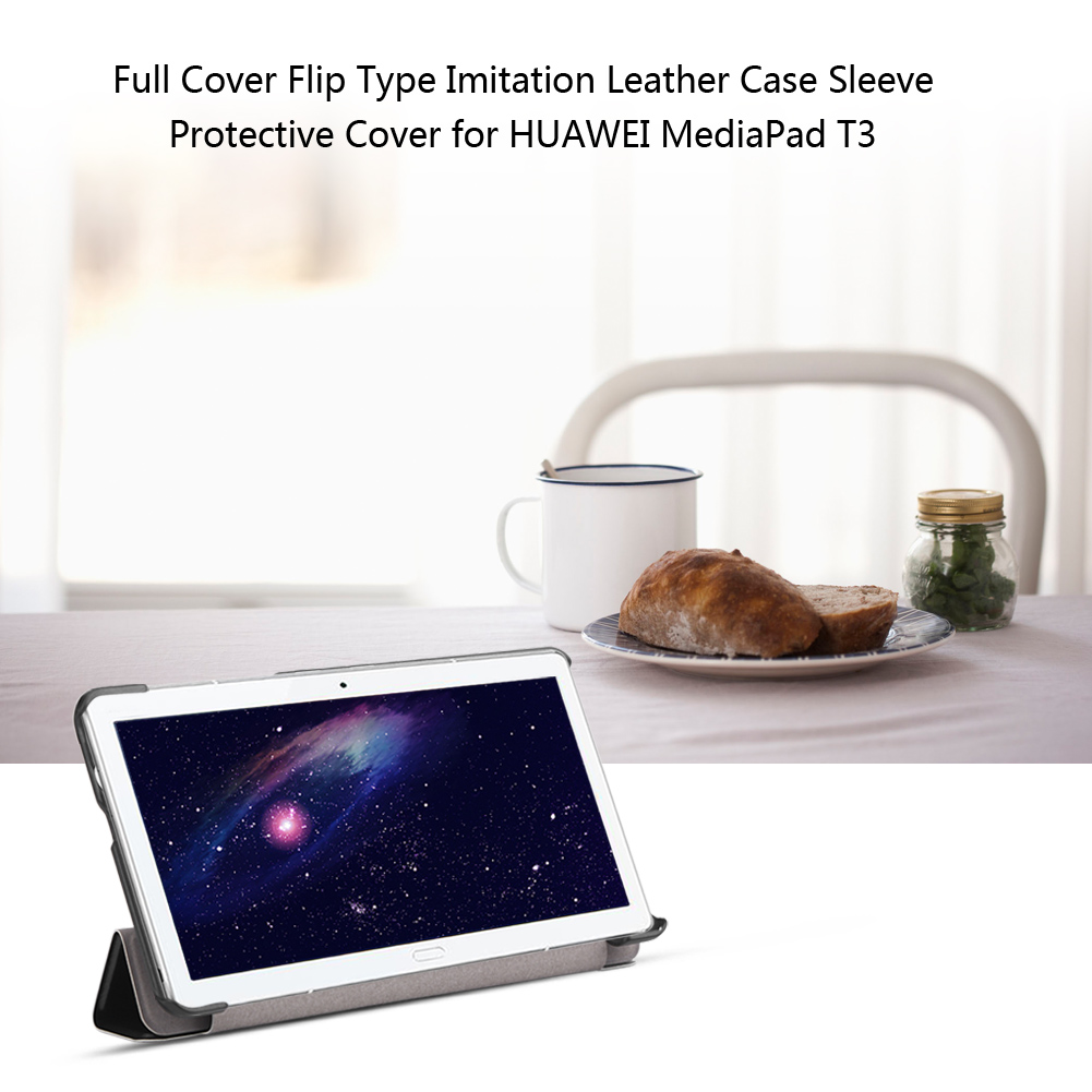 For-Huawei-MediaPad-M3-T3-7-034-8-034-10-034-Tablet-Smart-PU-Leather-Case-Stand-Cover-ZZ miniature 57
