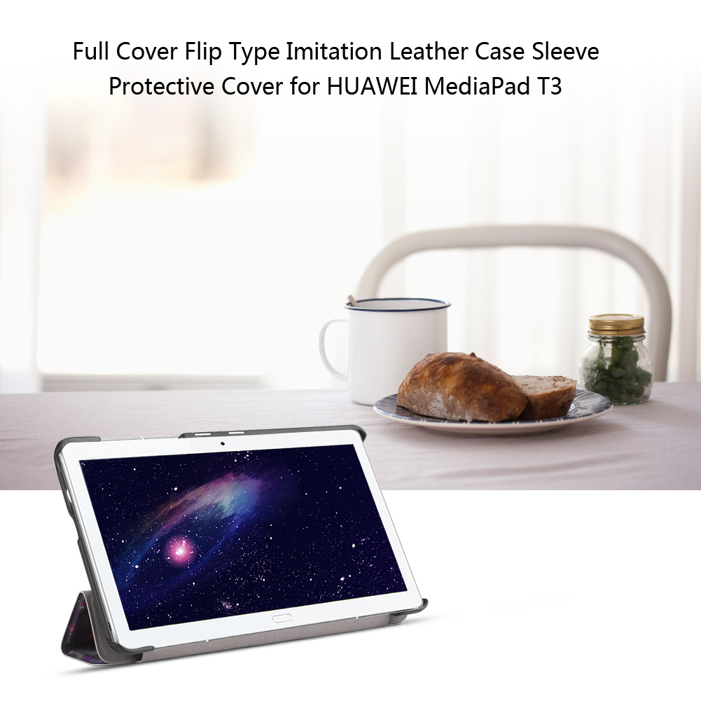 For-Huawei-MediaPad-M3-T3-7-034-8-034-10-034-Tablet-Smart-PU-Leather-Case-Stand-Cover-ZZ miniature 67