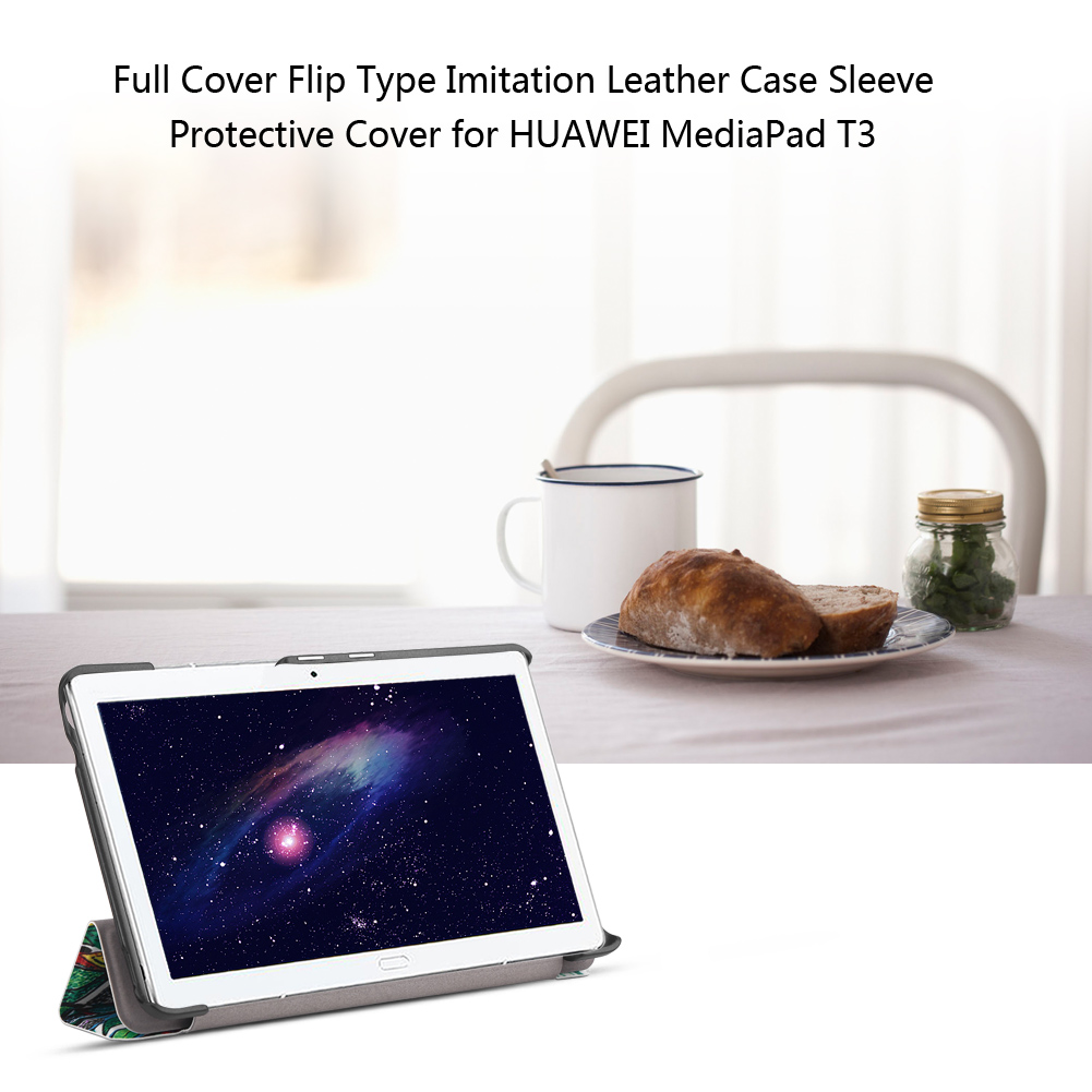 For-Huawei-MediaPad-M3-T3-7-034-8-034-10-034-Tablet-Smart-PU-Leather-Case-Stand-Cover-ZZ miniature 16