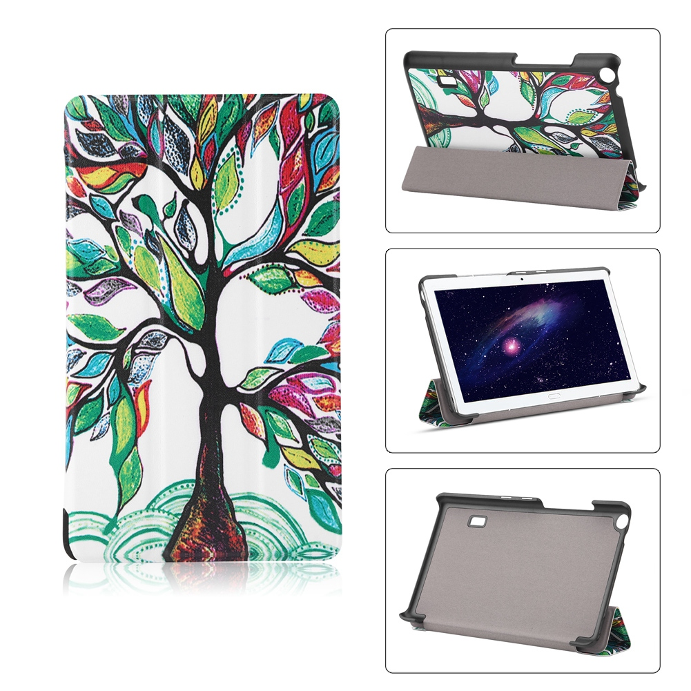 For-Huawei-MediaPad-M3-T3-7-034-8-034-10-034-Tablet-Smart-PU-Leather-Case-Stand-Cover-ZZ miniature 14