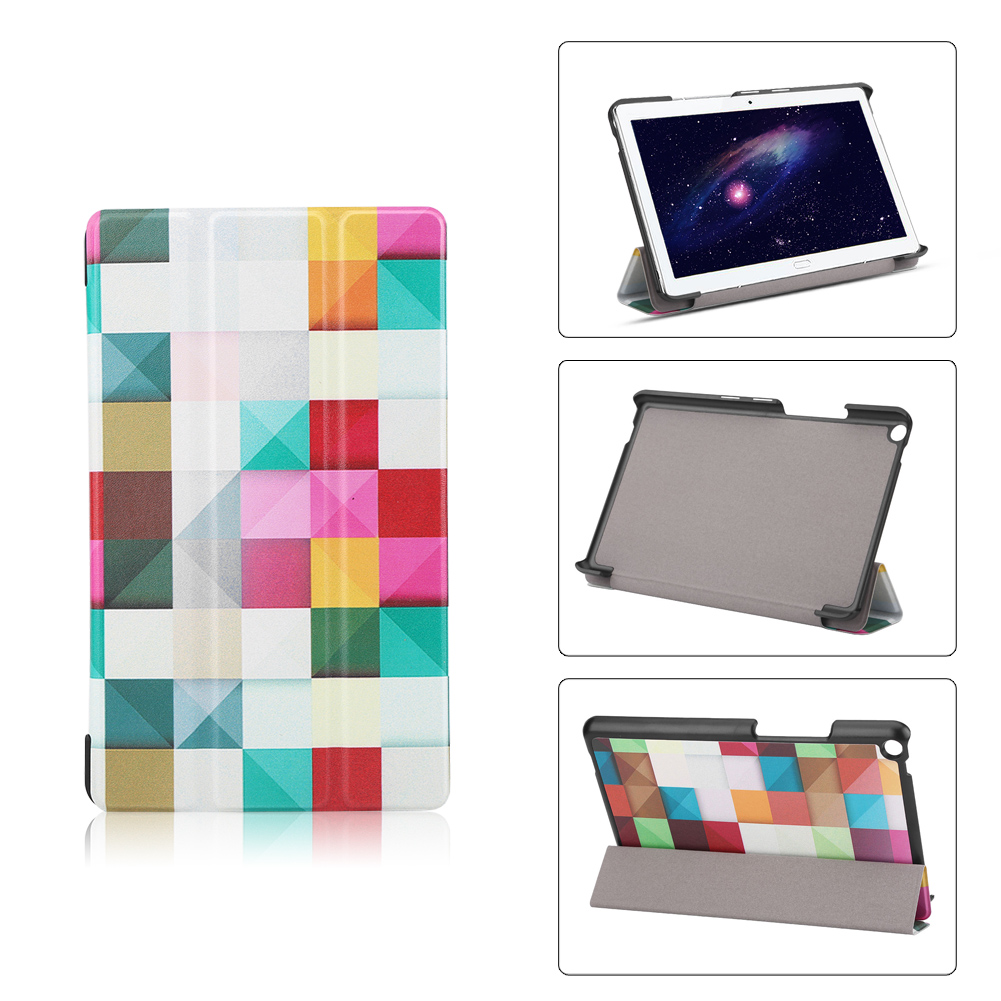 For-Huawei-MediaPad-M3-T3-7-034-8-034-10-034-Tablet-Smart-PU-Leather-Case-Stand-Cover-ZZ miniature 75