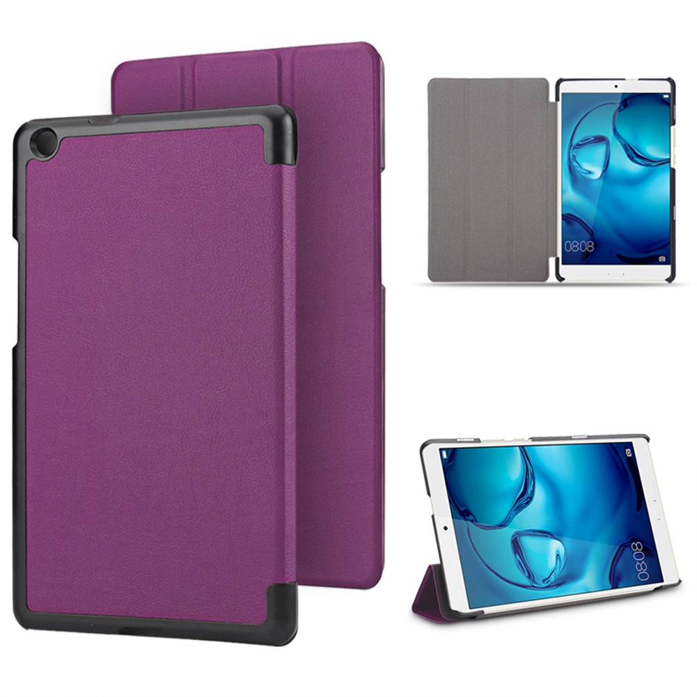 For-Huawei-MediaPad-M3-T3-7-034-8-034-10-034-Tablet-Smart-PU-Leather-Case-Stand-Cover-ZZ miniature 79
