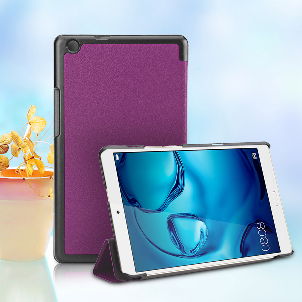 For-Huawei-MediaPad-M3-T3-7-034-8-034-10-034-Tablet-Smart-PU-Leather-Case-Stand-Cover-ZZ miniature 80