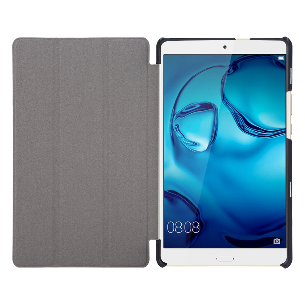 For-Huawei-MediaPad-M3-T3-7-034-8-034-10-034-Tablet-Smart-PU-Leather-Case-Stand-Cover-ZZ miniature 85