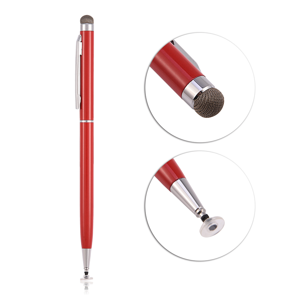 2in1-Precision-Thin-Capacitive-Touch-Screen-Stylus-Pen-For-iPhone-iPad-Tablet-AM thumbnail 13