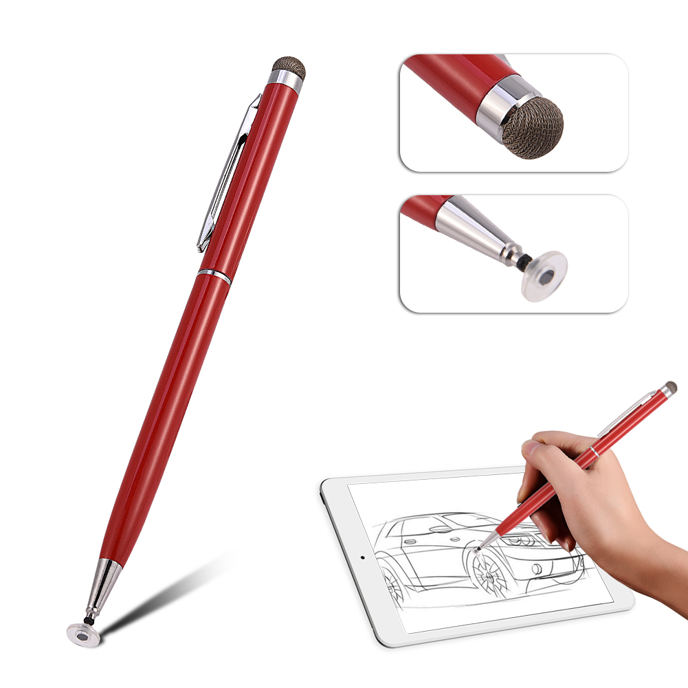 2in1-Precision-Thin-Capacitive-Touch-Screen-Stylus-Pen-For-iPhone-iPad-Tablet-AM thumbnail 14
