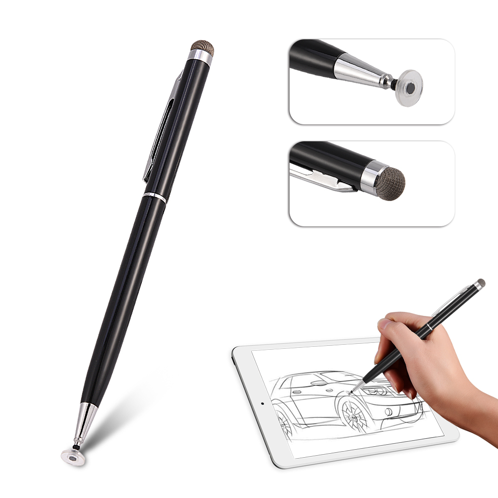 2in1-Precision-Thin-Capacitive-Touch-Screen-Stylus-Pen-For-iPhone-iPad-Tablet-AM thumbnail 17