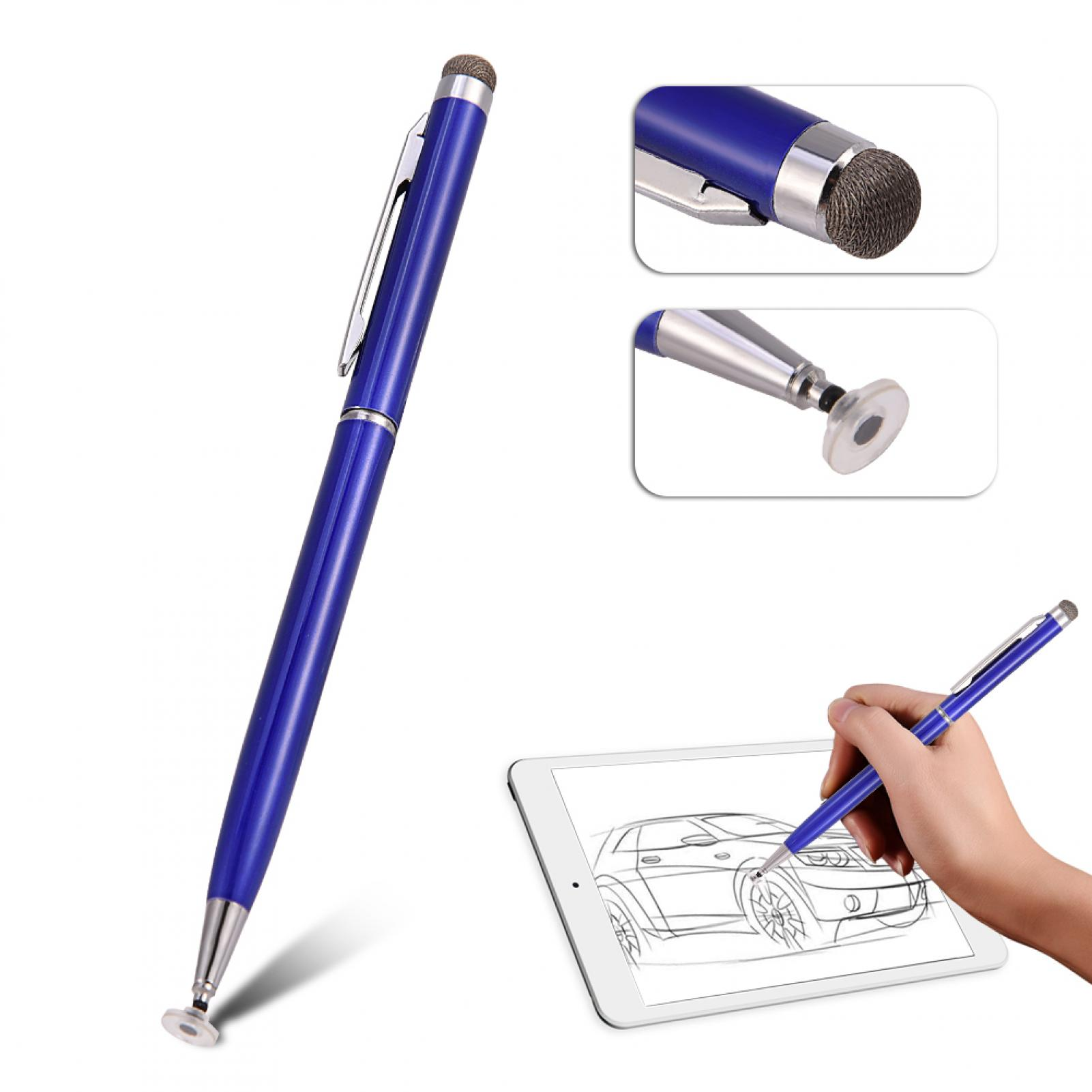 2in1-Precision-Thin-Capacitive-Touch-Screen-Stylus-Pen-For-iPhone-iPad-Tablet-AM thumbnail 20