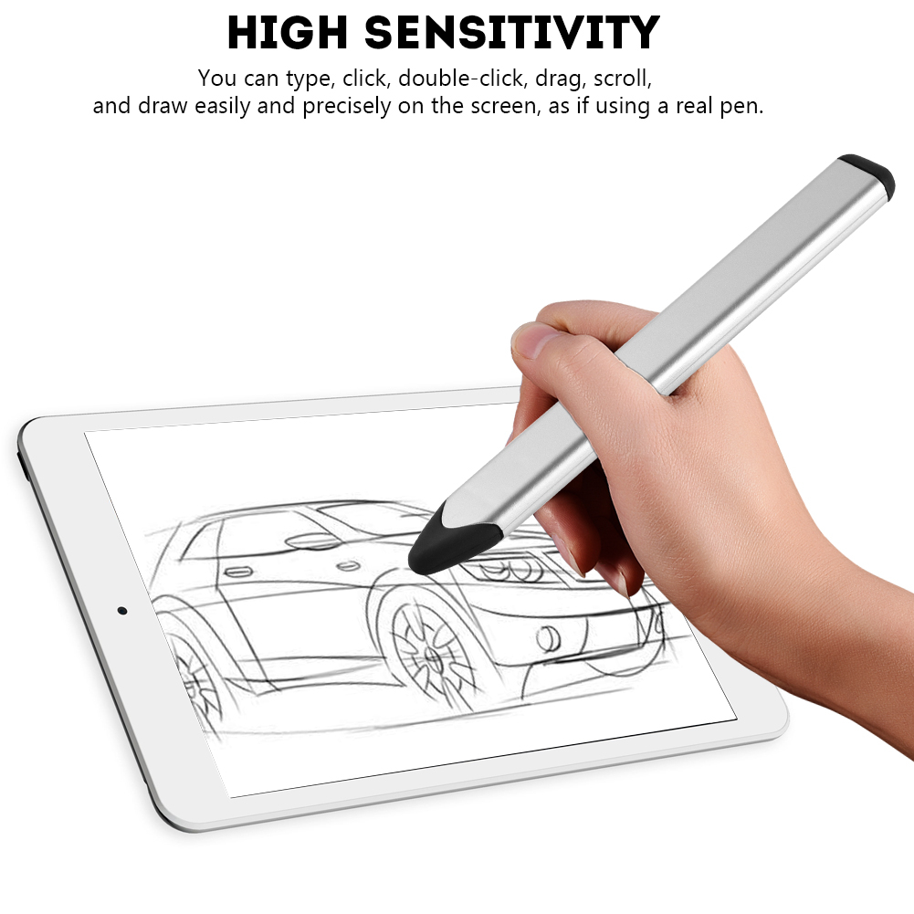 Universal-Capacitive-Touch-Screen-Stylus-Pen-Drawing-Pencil-For-Phone-PC-Tablet thumbnail 21