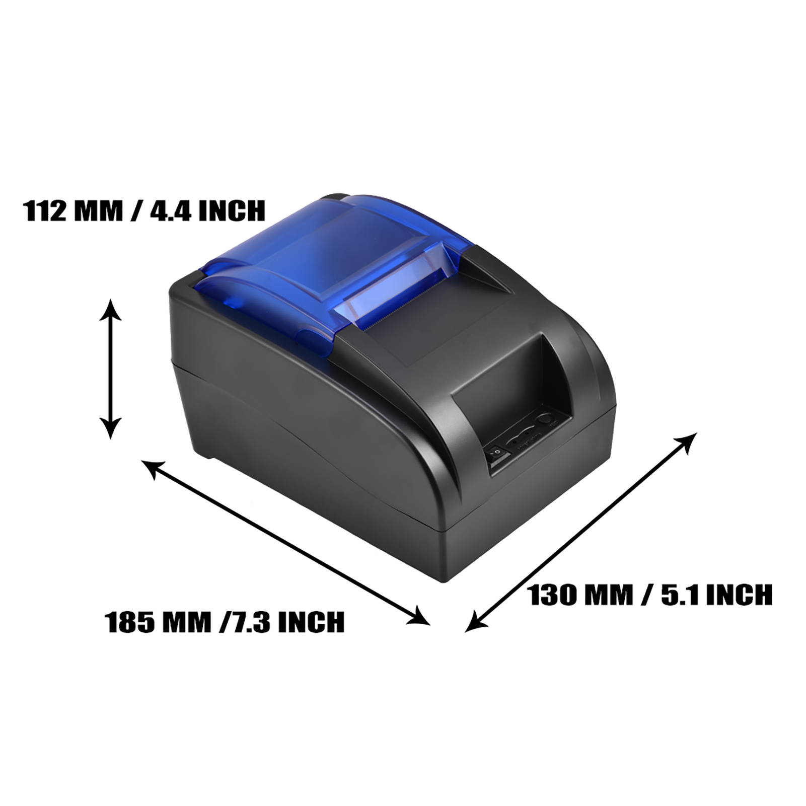 Details about 58mm Mini USB Wired Thermal Printer Ticket Receipt Label  Printing POS ESC CO
