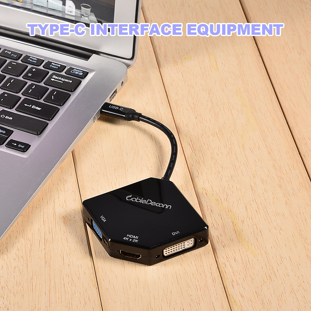 3-in-1-USB-C-Hub-Type-C-to-HDMI-VGA-DVI-Adapter-Converter-Cable-For-Macbook-Pro