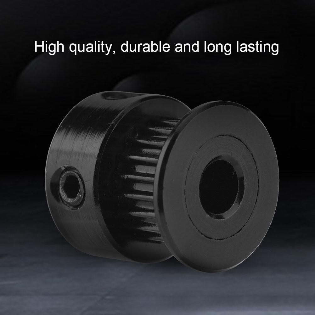 5Pcs 5//8mm Bore Aluminum GT2 Timing 20T 6mm Width Belt Pulley Fit For 3D Printer