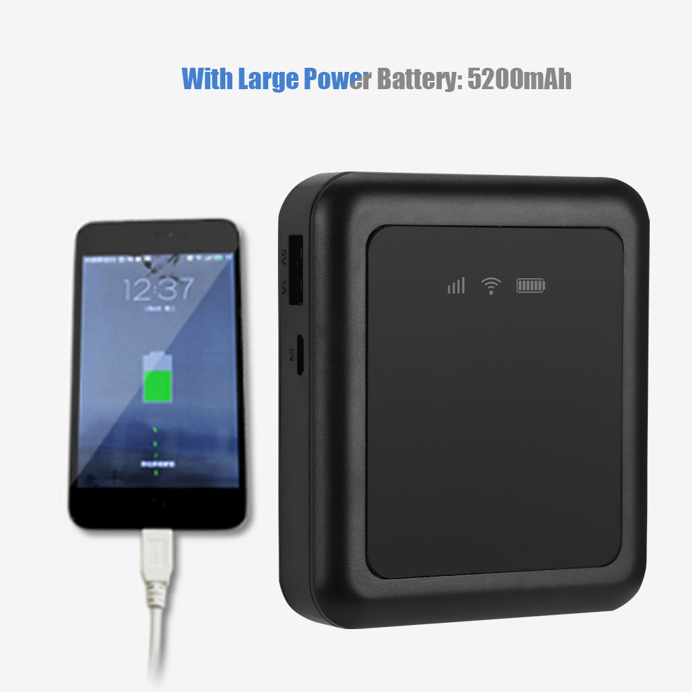 Mobile Power Bank 3G Wireless Router Pocket WIFI Router With SIM Card Slot/&RJ45