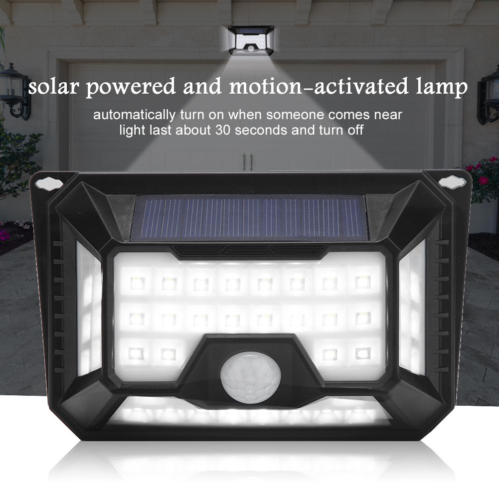 Eclairage Exterieur Mural Puissant détails sur lampe solaire Étanche pir led détecteur mouvement eclairage  extérieur puissant