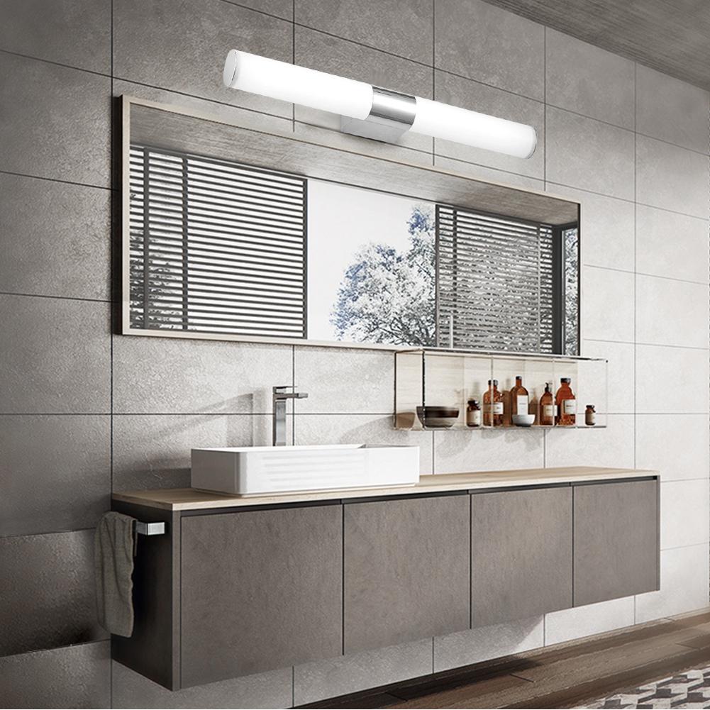 Tableau Salle De Bain détails sur 6/8w lampe applique led lumière murale pr salle de bain miroir  tableau blanc fr