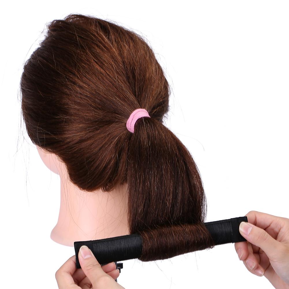 Magic-Clip-Foam-Donut-Hair-Styling-Bun-Curler-Tool-Maker-Ring-Twist-DIY-Hair-A9 thumbnail 10
