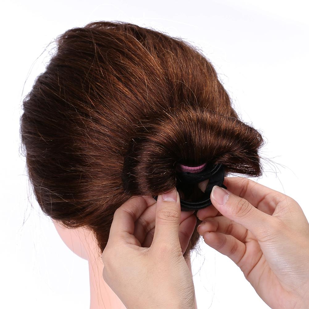 Magic-Clip-Foam-Donut-Hair-Styling-Bun-Curler-Tool-Maker-Ring-Twist-DIY-Hair-A9 thumbnail 11