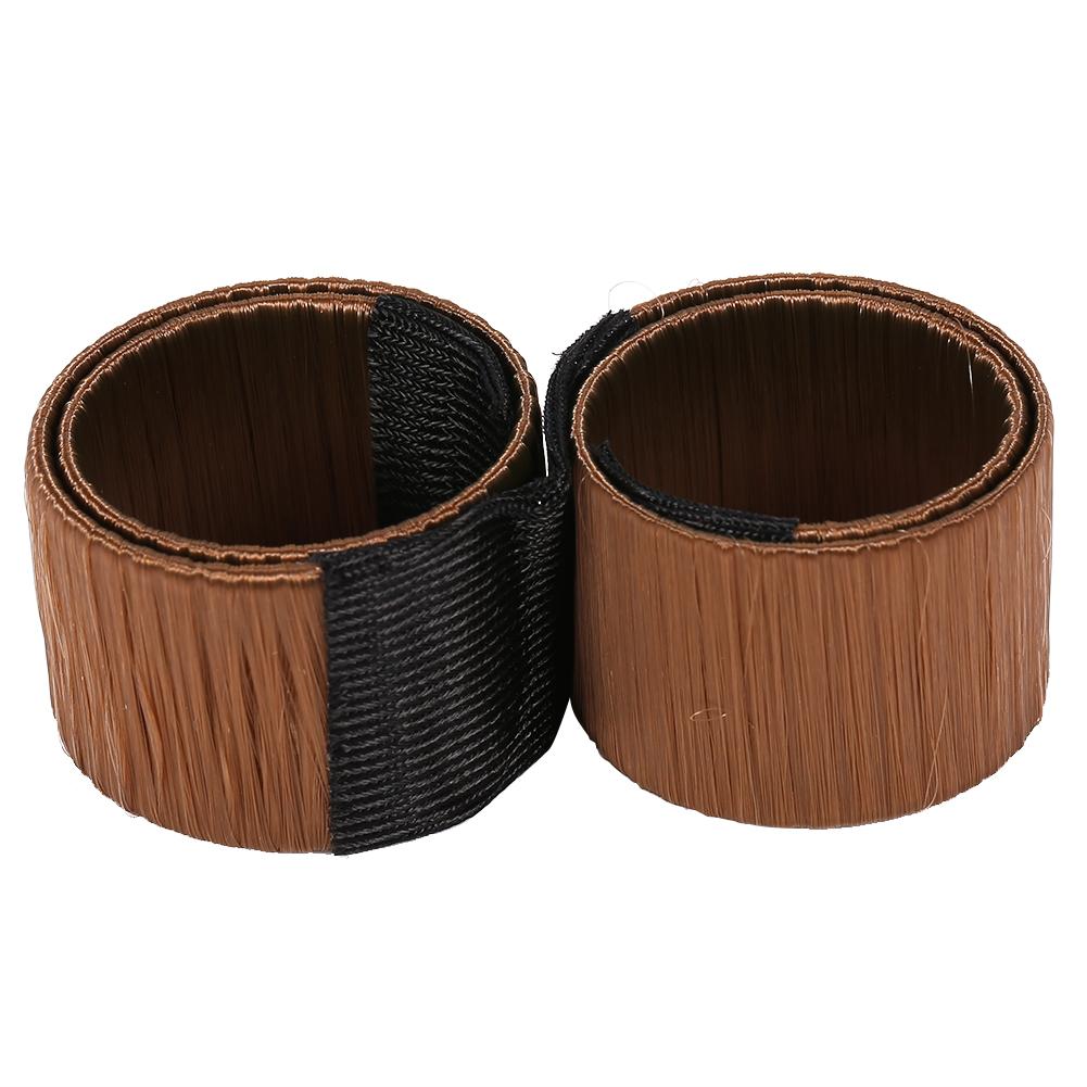 Magic-Clip-Foam-Donut-Hair-Styling-Bun-Curler-Tool-Maker-Ring-Twist-DIY-Hair-A9 thumbnail 17