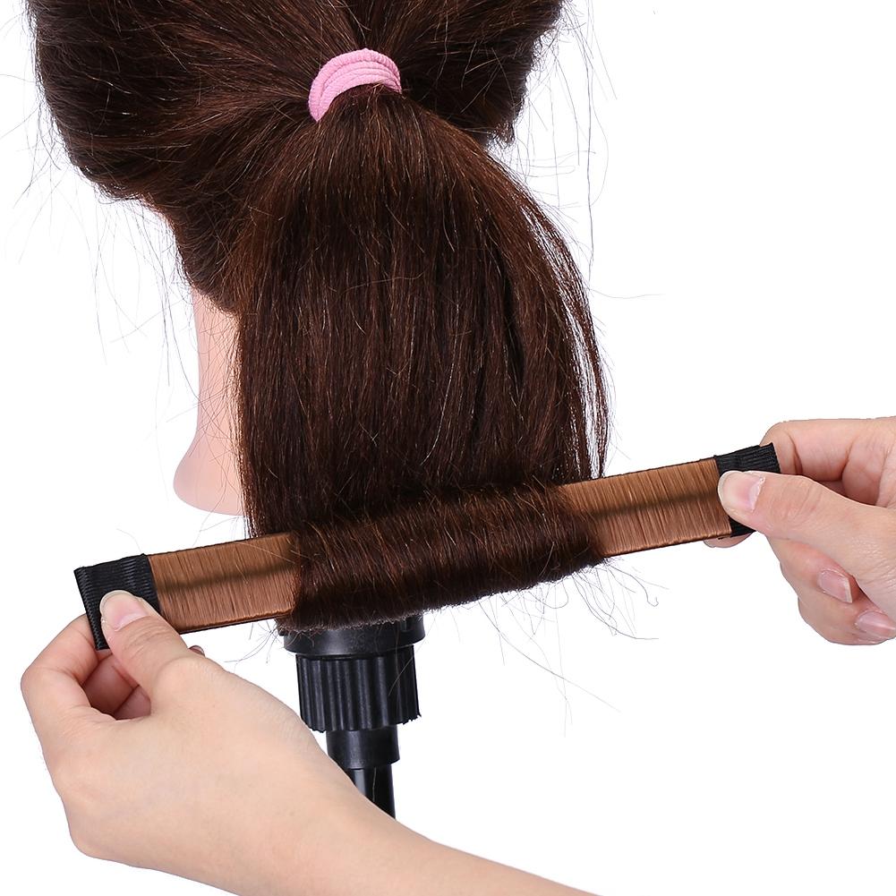 Magic-Clip-Foam-Donut-Hair-Styling-Bun-Curler-Tool-Maker-Ring-Twist-DIY-Hair-A9 thumbnail 18