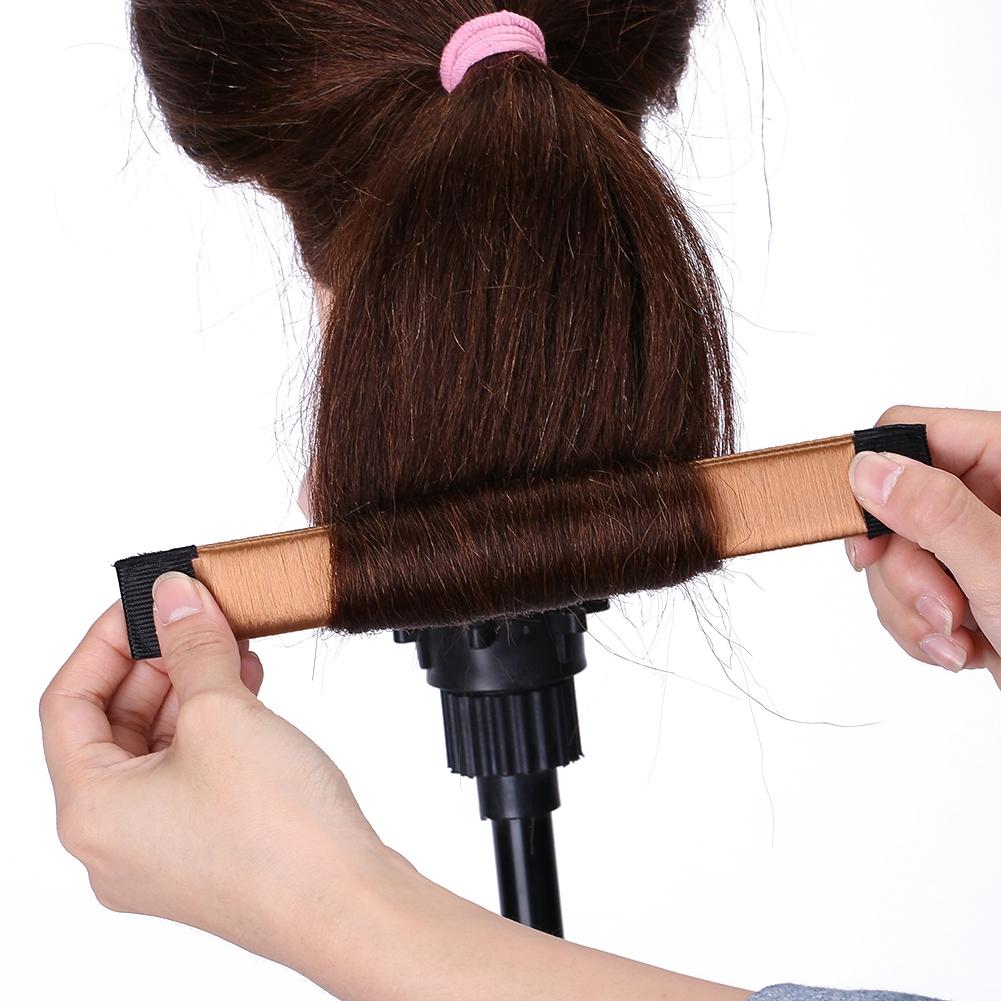 Magic-Clip-Foam-Donut-Hair-Styling-Bun-Curler-Tool-Maker-Ring-Twist-DIY-Hair-A9 thumbnail 21