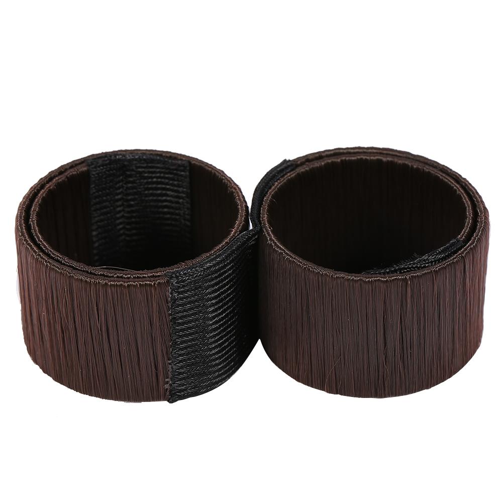 Magic-Clip-Foam-Donut-Hair-Styling-Bun-Curler-Tool-Maker-Ring-Twist-DIY-Hair-A9 thumbnail 23