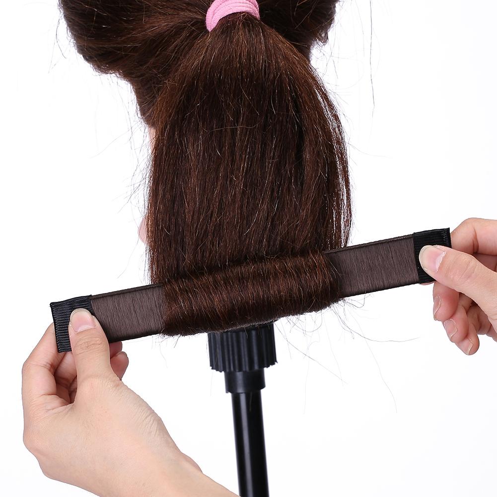 Magic-Clip-Foam-Donut-Hair-Styling-Bun-Curler-Tool-Maker-Ring-Twist-DIY-Hair-A9 thumbnail 24