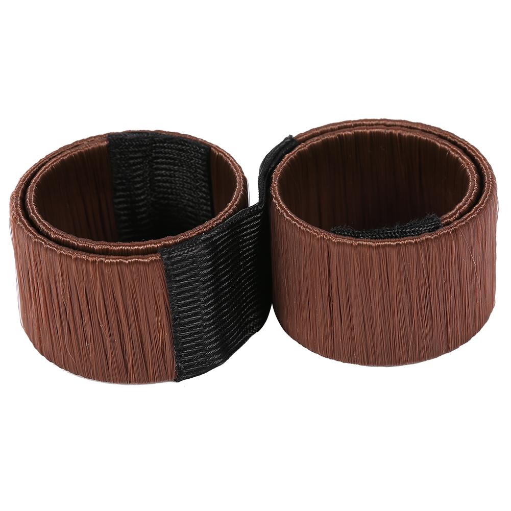 Magic-Clip-Foam-Donut-Hair-Styling-Bun-Curler-Tool-Maker-Ring-Twist-DIY-Hair-A9 thumbnail 26