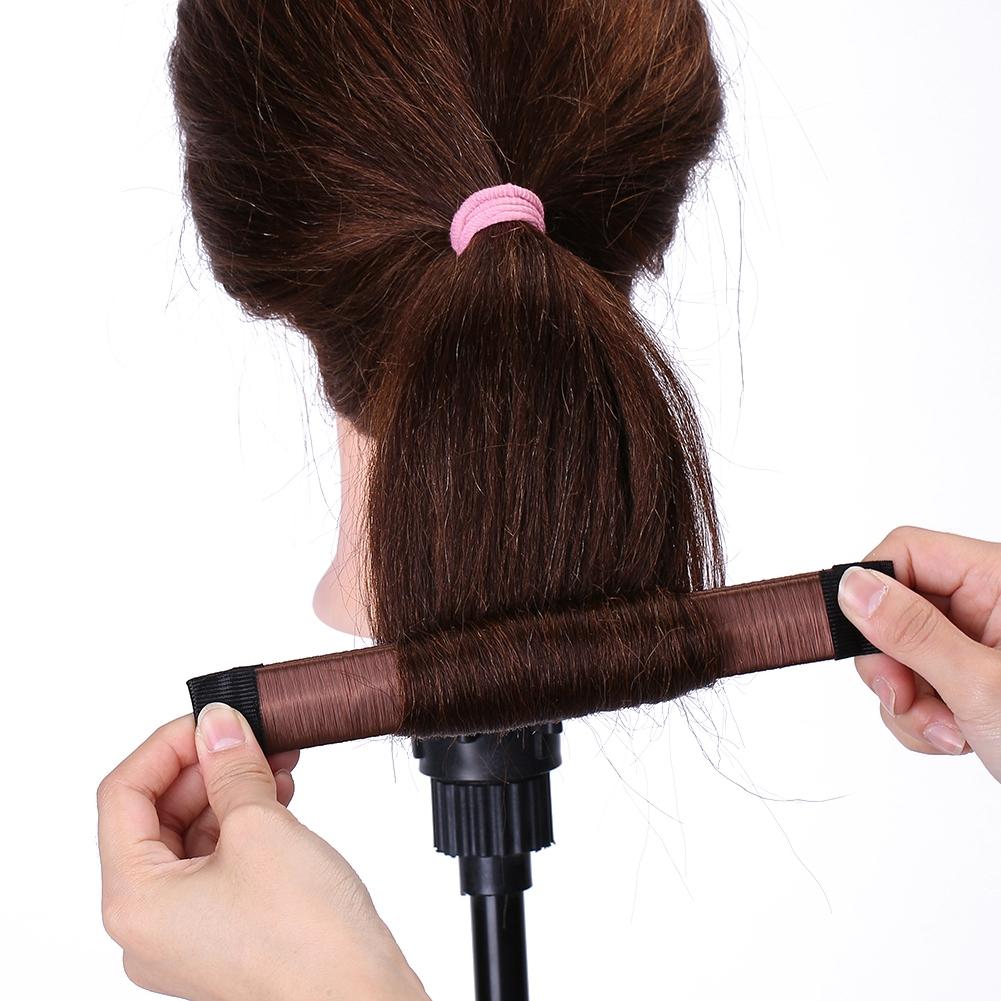 Magic-Clip-Foam-Donut-Hair-Styling-Bun-Curler-Tool-Maker-Ring-Twist-DIY-Hair-A9 thumbnail 27