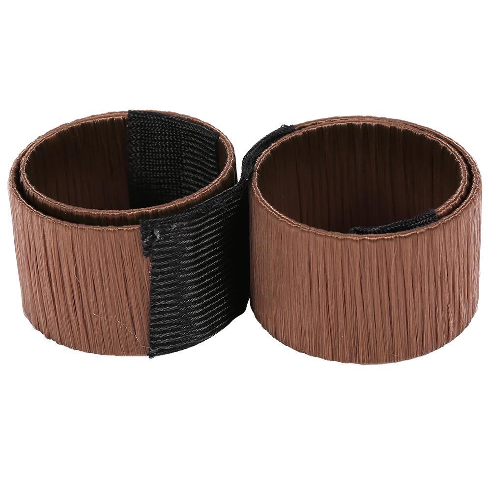 Magic-Clip-Foam-Donut-Hair-Styling-Bun-Curler-Tool-Maker-Ring-Twist-DIY-Hair-A9 thumbnail 29