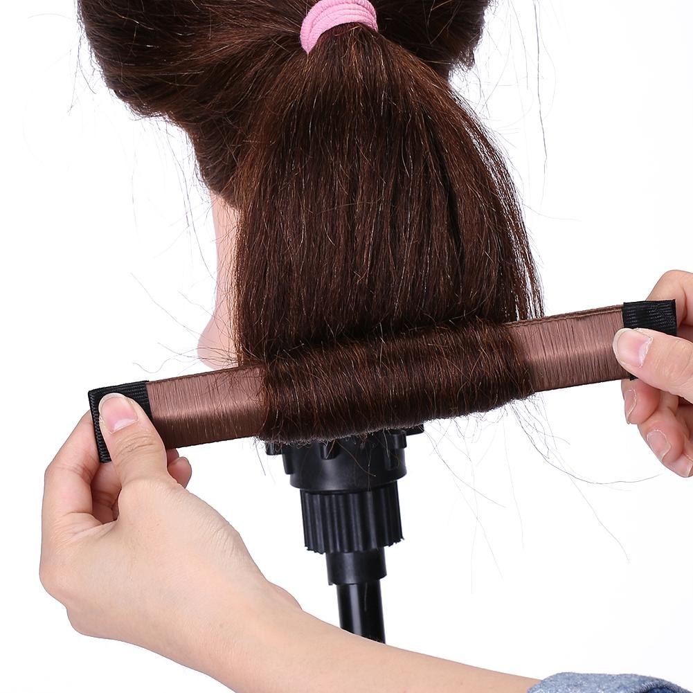 Magic-Clip-Foam-Donut-Hair-Styling-Bun-Curler-Tool-Maker-Ring-Twist-DIY-Hair-A9 thumbnail 30