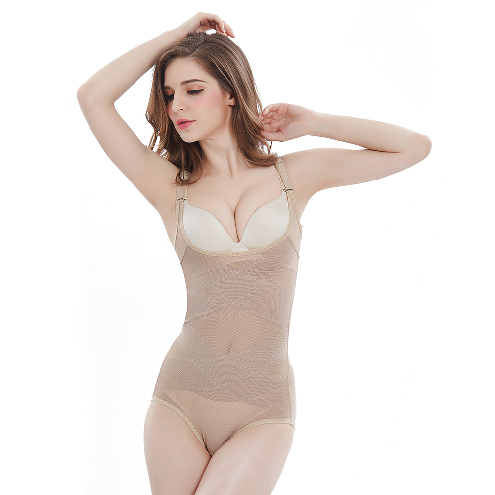 Body Shaper Women One-piece Underbust Slimming Bodysuit