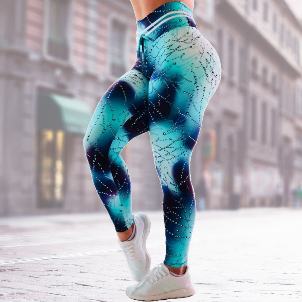 Stylish Women Sports Yoga Pants High Waist Fitness Leggings Gym ... 777936ae0
