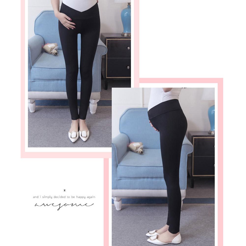 Low-Waist-Cotton-Leggings-Elastic-Pregnant-Maternity-Pants-Women-Casual-Trousers thumbnail 11