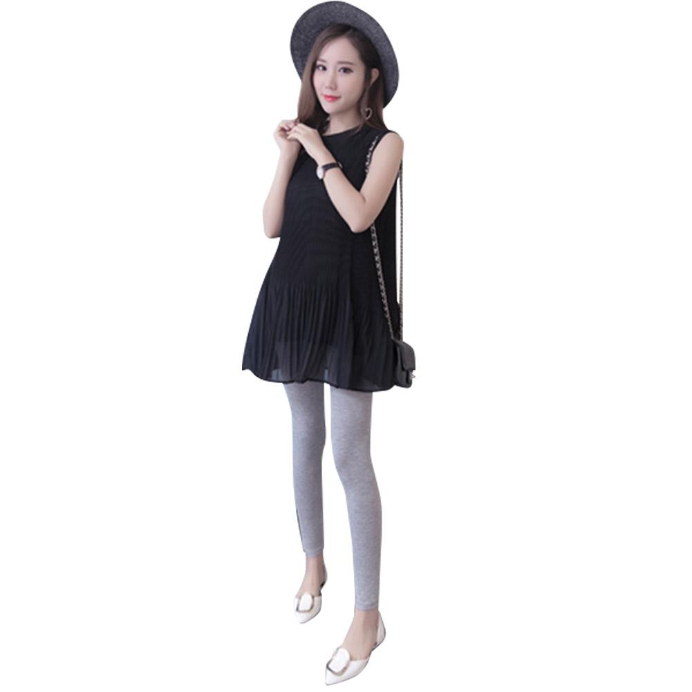 Low-Waist-Cotton-Leggings-Elastic-Pregnant-Maternity-Pants-Women-Casual-Trousers thumbnail 14