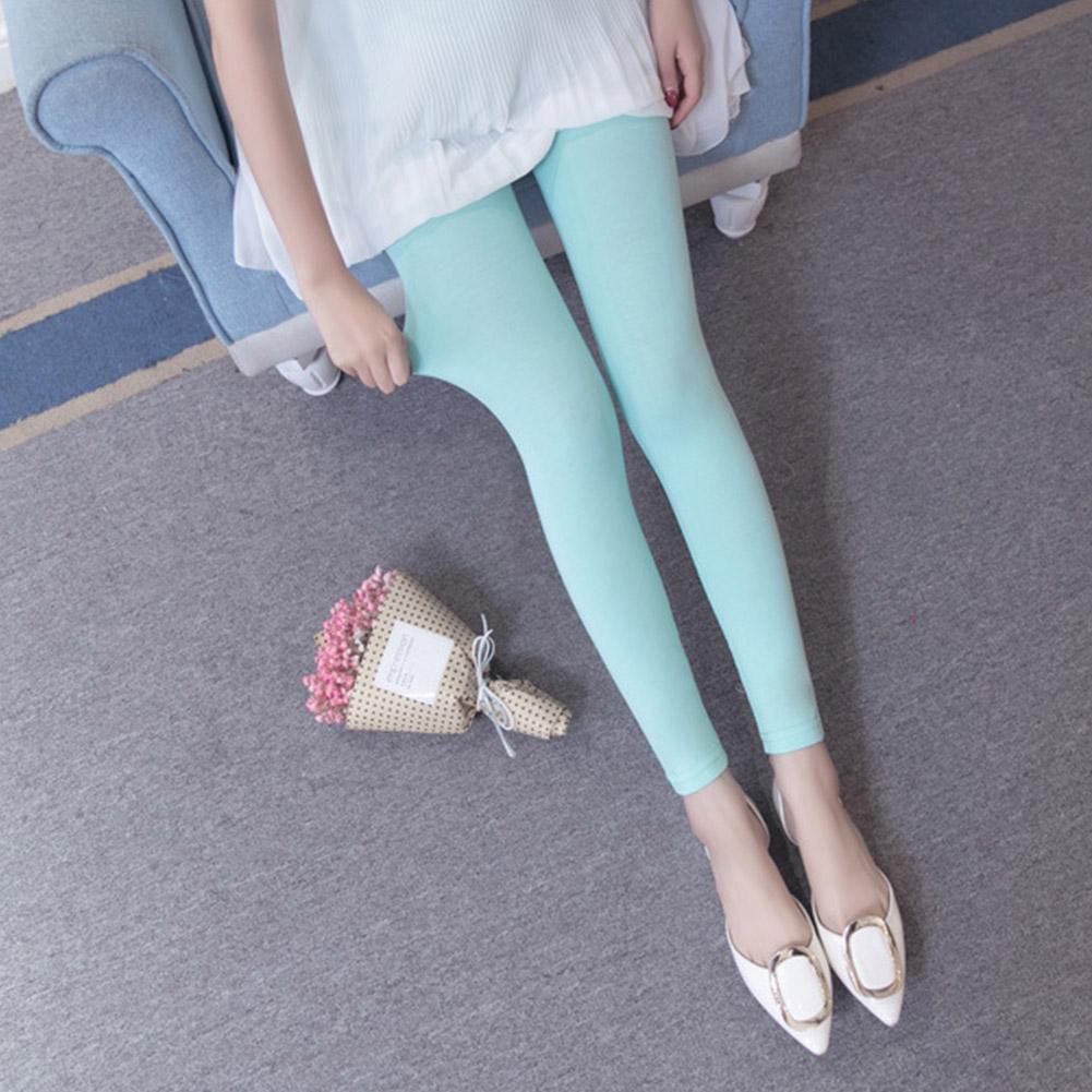 Low-Waist-Cotton-Leggings-Elastic-Pregnant-Maternity-Pants-Women-Casual-Trousers thumbnail 17