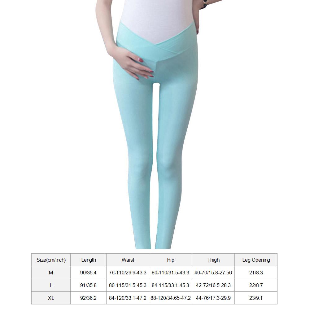 Low-Waist-Cotton-Leggings-Elastic-Pregnant-Maternity-Pants-Women-Casual-Trousers thumbnail 18